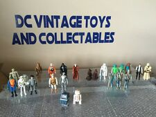 Lot of 24 vintage Kenner Star Wars action figures, complete, no repros Vader-R2