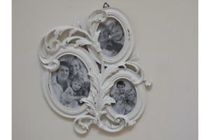 Shabby Chic White Picture Frame Multi Frame