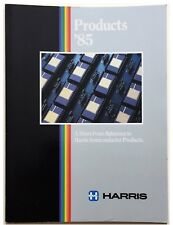 Harris, Short-Form Reference to Semiconductor Products Data Book 1985