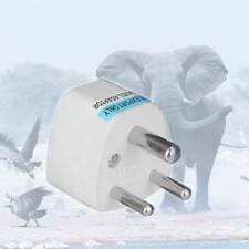 UK/US/EU/AU to South Africa 3 pin Travel Power Adapter Plug Charge Converter