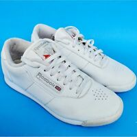 Reebok Classic WHITE Princess Athletic Sneakers 30500 Women's Size 7 Wide D