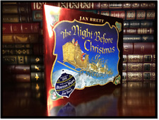 The Night Before Christmas by Jan Brett New Hardcover Gift with Boston Pop DVD