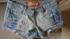 River Island Ladies Girls denim shorts size 6