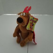 Gund Scooby Doo Halloween Plush Stuffed Animal Toy Devil Costume Cape Horns New