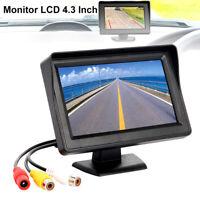 "4.3""LCD Car Vehicle Rear View Monitor Screen For Reversing Backup Parking Camera"