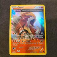 Entei - Pokemon Card - XY: Ancient Origins 15/98 - Full Art - Rare Holo NM/M