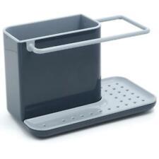 Joseph Joseph Caddy Sink Tiddy Area Brush Storage Organiser Drainer Compact Grey