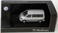 VW T5 7H MULTIVAN TDI BUS FACELIFT 2010 REFLEX SILVER 1:87 WIKING (DEALER MODEL)