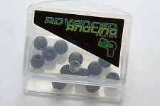 Tapered Beads 5mm Weed Green 12 pieces Carp Fishing Tackle Chod Rig Run Rig