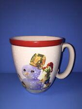 Williams Sonoma Nordic Elf Gnome Snowman Christmas Coffee Cocoa Mug 16 oz