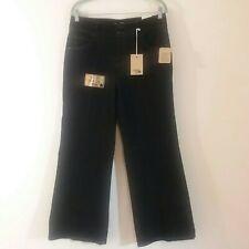 Jeanstar Womens Premium Dark Wash Denim Wide Leg Jeans Size 10 New