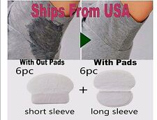 24 pc Summer Disposable Underarm Armpit Sweat Pads Absorbing Anti Perspiration