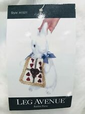 Alice in Wonderland Purse White Rabbit Handbag Halloween Costume Fancy Dress