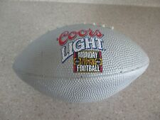 Coors Light Grey Mini Football Monday Night Football Man Cave Beer