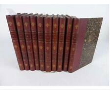BUFFON: Oeuvres complètes 10 volumes 1860