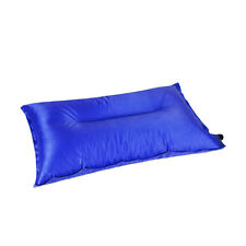 Automatic Inflatable Air Cushion Pillow Portable Outdoor Travel Camping Nr Blue