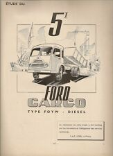 REVUE TECHNIQUE AUTOMOBILE 67 RTA 1951 ETUDE FORD CARGO TYPE FOYW DIESEL