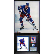 Rare Authentic Wayne Gretzky 8x10 Rangers Photo Card (With Photo Card)