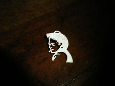 ELVIS PRESLEY - Pins !!! SILHOUETTE BLANCHE PROFIL !!!