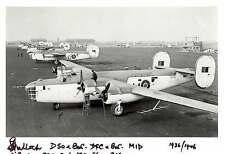 RAF signed photo B-24 Liberator signed U-boat Hunter BULLOCH DSO DFC AA1