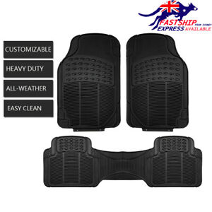Rubber Car Floor Mat Anti Dust/Water/Grind For Corolla Camry Prius Avalon Yaris