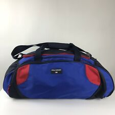 Polo Sport Ralph Lauren Duffel Bag Blue Travel Gym Large