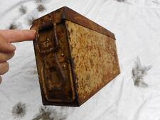 original WW2 GERMAN ARMY dak afrikakorps ELITE mg42 mg34 AMMO CAN TIN BOX TAN