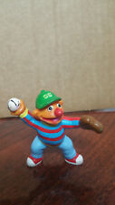 "Ernie playing catch Baseball 2 & 1/2"" Pvc Applause Figure from Sesame Street"