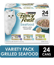 Purina Fancy Feast Grilled Feast in Gravy Canned Wet Cat Food (24) 3 oz. Cans