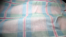"Queen Bed Skirt Dust Ruffle Vintage 80's 90's Cotton/Poly 60"" x 80"" NOS"