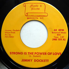 Jimmy Dockett NEAR MINT 45 Sweet Soul POPCORN Strong Is The Power Of Love F2001
