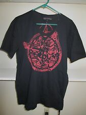 NEW MENS LARGE AFFLICTION BLACK PREMIUM T SHIRT