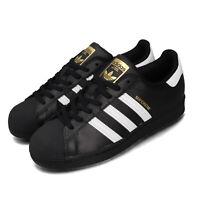 adidas Originals Superstar Black White Gold Men Women Unisex Classic Shoe EG4959
