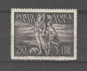 s37909 VATICANO 1948 MNH Posta Aerea Tobia L. 250 1v
