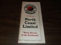 OCTOBER 1943 NP NORTHERN PACIFIC RAILROAD SYSTEM PUBLIC TIMETABLE SCARCE WWII