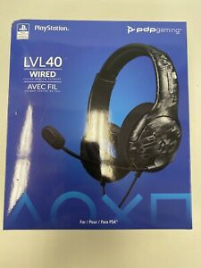 PDP Gaming - LVL 40 wired Stereo Gaming Headset For PlaysStation.4