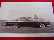 1961 PLYMOUTH FURY 2DR HARDTOP  11 X 17  PHOTO   PICTURE