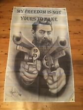 NED KELLY 5x3 foot man cave flag southern cross eureka pool room sign flag