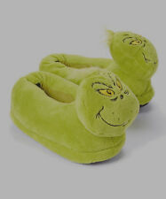 ** EXTRA LARGE ** GRINCH SLIPPERS DR SEUSS Brand New With Tags Adult