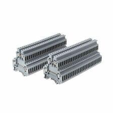 Blocchi di Terra Morsettiera Kit Morsetti DIN Rail E1B6 Rail nel Alluminio