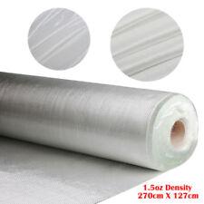 1.5 OZ White Fiberglass Cloth Mesh 50'' x 3 Yards Woven Roving Glass Fiber Plain