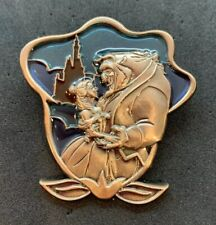 Disney Wdw Passholder New Fantasyland Stained Glass Beauty & The Beast Belle Pin