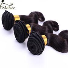 100% Virgin Peruvian Body Wave Hair Weft 3 Bundles/150g Human Hair Extensions