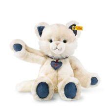 Steiff 084447 Katze Miau Denim Darlings 33 cm Kuscheltier Stofftier Neu & Ovp
