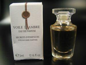 698) Yves Rocher Miniatur VOILE D´AMBRE Eau de Parfum Damen Duft ca. 5ml