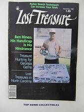 Lost Treasure  Magazine   November 1980     Lost Treasures In North Carolina
