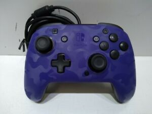 PDP Gaming Wired Nintendo Switch Gamepad Controller - Purple Camo