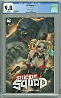 Suicide Squad #1 CGC 9.8 Unknown Comics Edition C Ejikur Variant Cover 2020