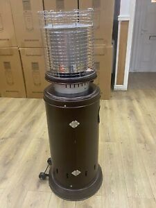 Outdoor patio heater gas