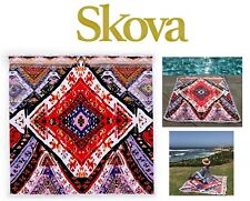 Skova Turkish Travel Towel Oversized Beach Picnic For Two Yoga Pool Collection D